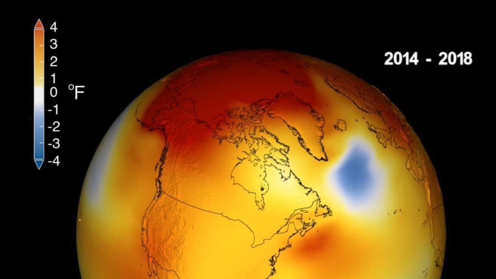 2018 nuevo récord de temperatura, estamos en el horno! 1