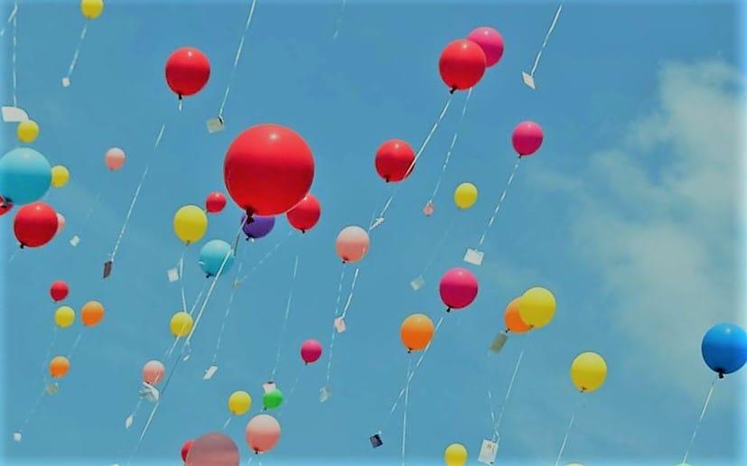 que pasa con los globos de helio