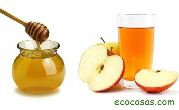 Vinagre de manzana con miel en ayunas
