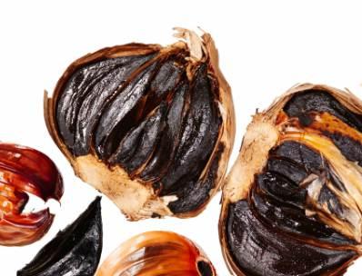 propiedades del ajo negro