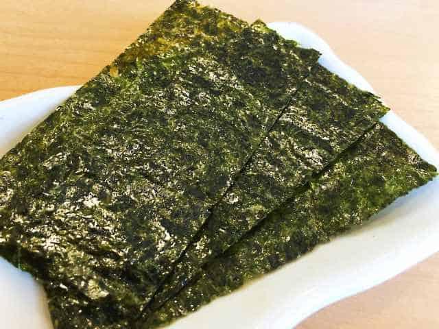 alga nori propiedades