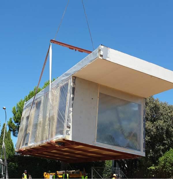 casas pasivas modulares