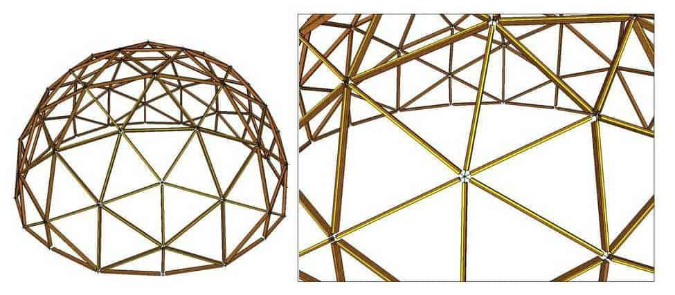 domo geodesico