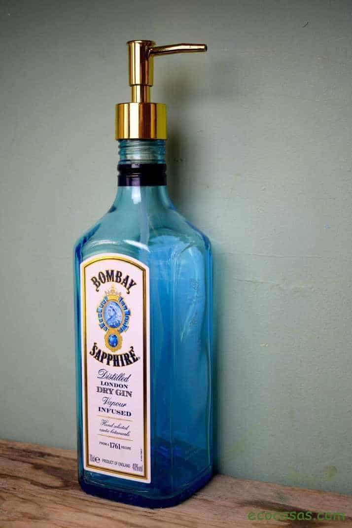 Manualidades con botellas de vidrio o cristal 2