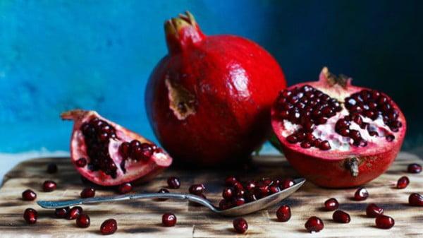 granada fruta como se come