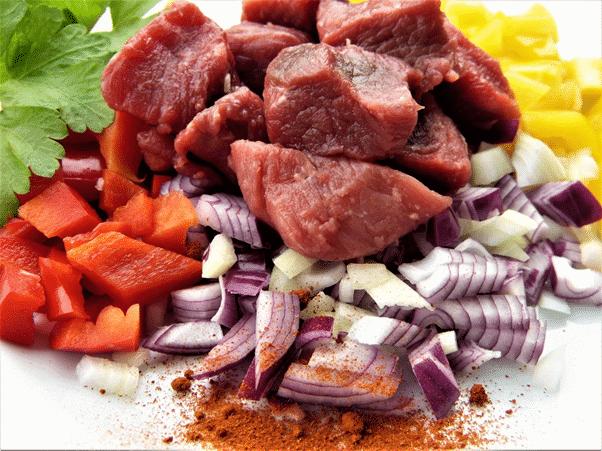 La lista de alimentos que contienen mucho hierro 1
